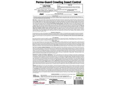 Perma-Guard Crawling Insect Control 2lb Bag