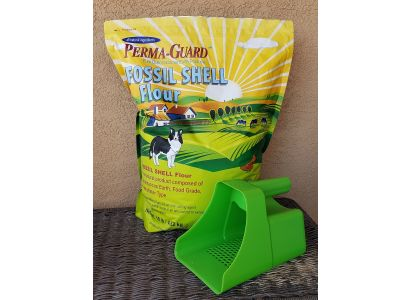 PERMA-GUARD Fossil Shell Flour 10lb Pouch w/ Scoop