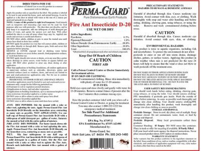 Fire Ant Insecticide D20 30lb Bag