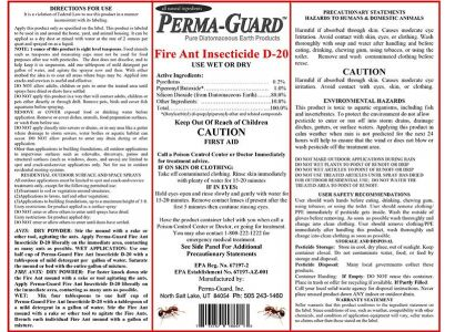 Fire Ant Insecticide D20 2lb Bag